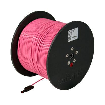 resistivity testing leads pink