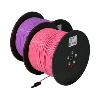 resistivity testing leads pink purple pair